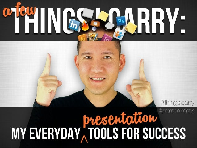 a few Things I Carry:                           #thingsicarry My Everyday              rese ta on             pToolsnforti...