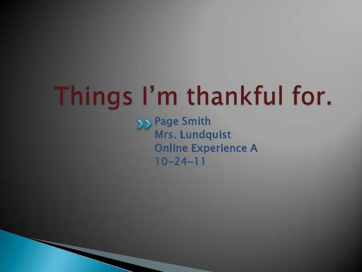 Page SmithMrs. LundquistOnline Experience A10-24-11