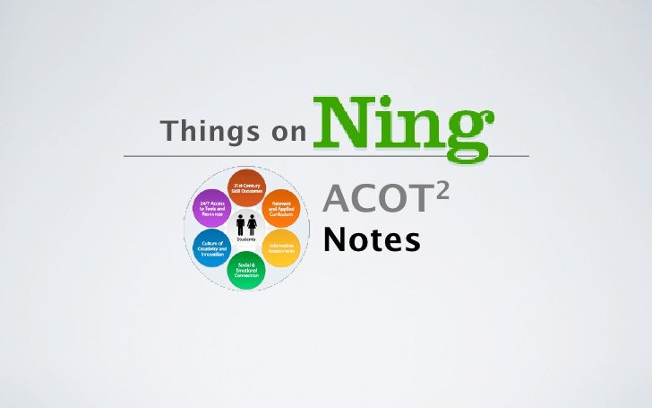 Things on              ACOT 2              Notes
