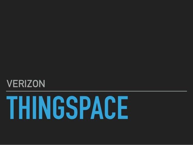 THINGSPACE VERIZON