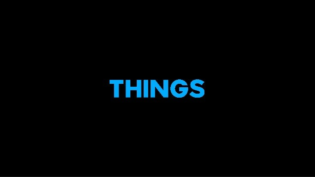 things.is a design and innovationagency for the Internet of Things