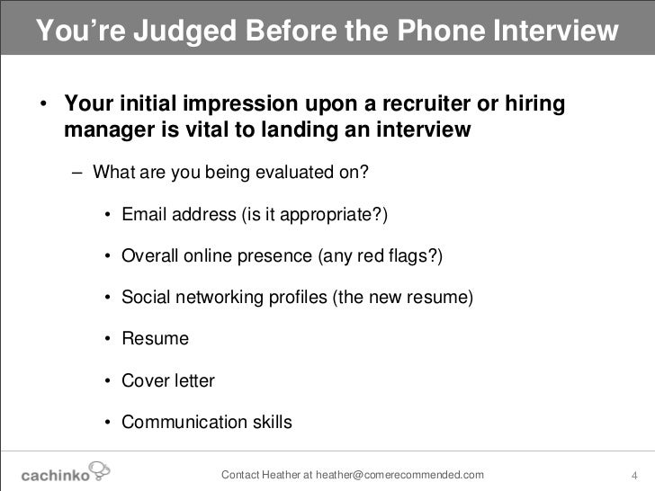 Things Recruiters  Hiring Managers WonT Tell You