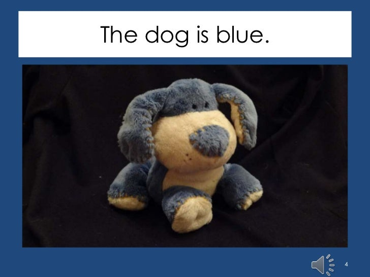 Things That Are Blue