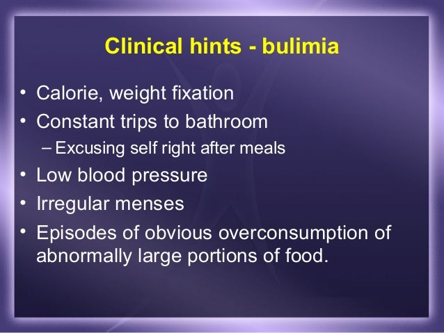 bulimic behaviors among wrestlers essay Restricting carbohydrates can lead to glycogen depletion, forcing the body to compensate by converting protein into a less efficient form of energy and increasing the risk of muscle injury and weakness.