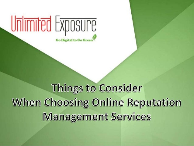 Companies that Prioritize on Advertising  When searching for online reputation management services, you will ideally want...