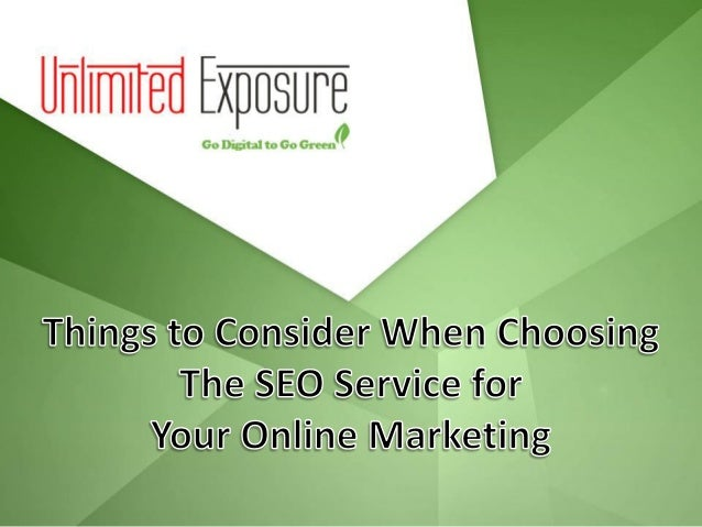 The Dilemma of Choosing an SEO Firm  When your brand demands online representation for increasing its market, you immedia...
