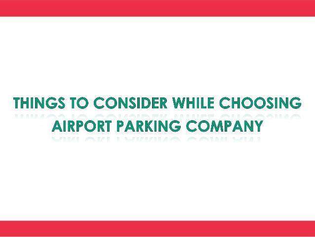 There are many agencies that offer comfortable and secure car parking services. But you should choose the one that has ear...