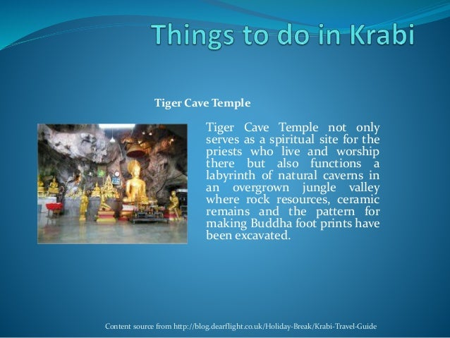 Tiger Cave Temple not only serves as a spiritual site for the priests who live and worship there but also functions a laby...