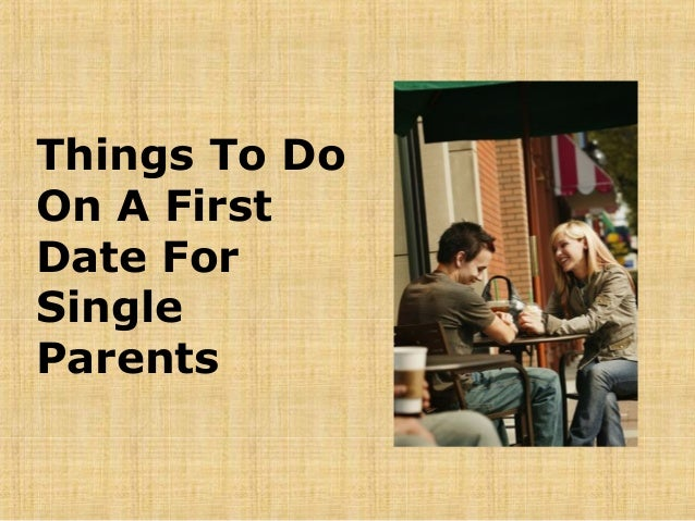 Things To Do For A First Date