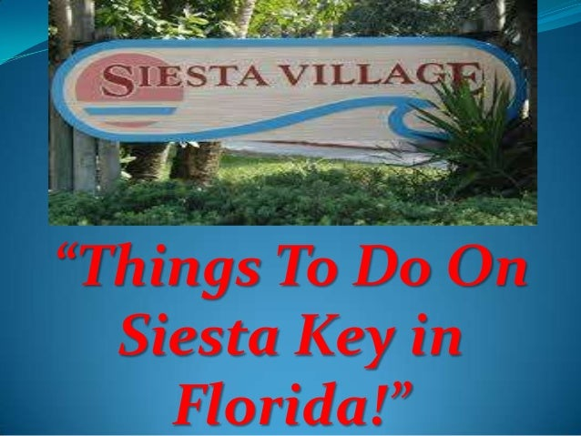 """Things To Do On Siesta Key in Florida!"""