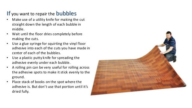 Things To Do When Vinyl Flooring Suffers From Damages