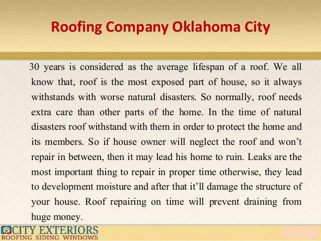 Roofing Company Oklahoma City ...
