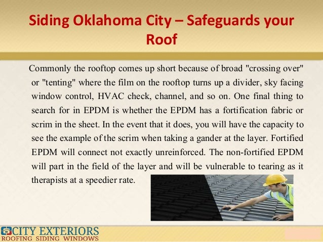 6. Siding Oklahoma City U2013 Safeguards Your Roof ...