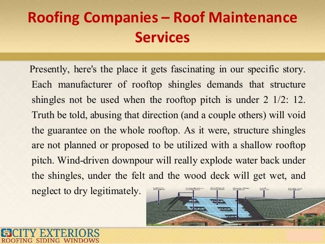 High Quality Roofing Companies ...