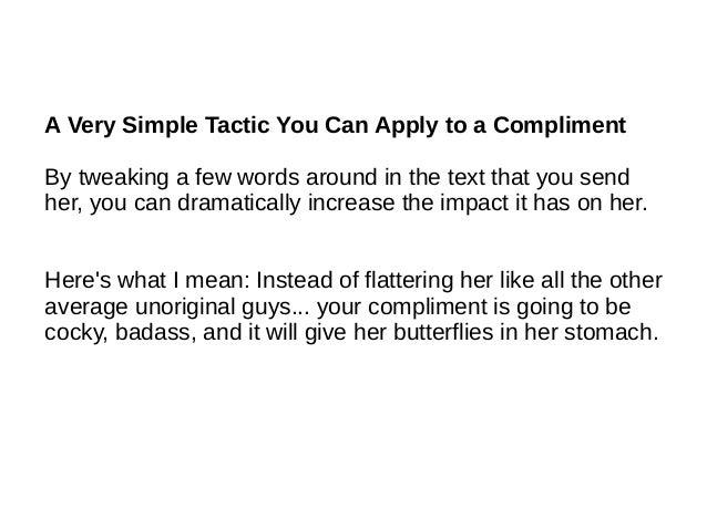 Things that make girls blush
