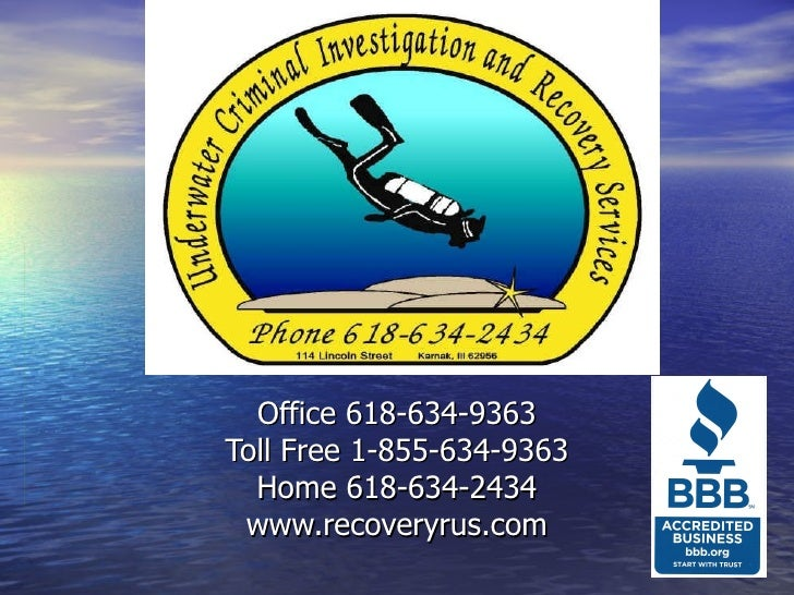Office 618-634-9363Toll Free 1-855-634-9363  Home 618-634-2434 www.recoveryrus.com