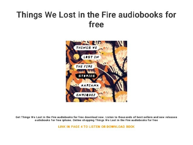 things we lost in the fire lyrics