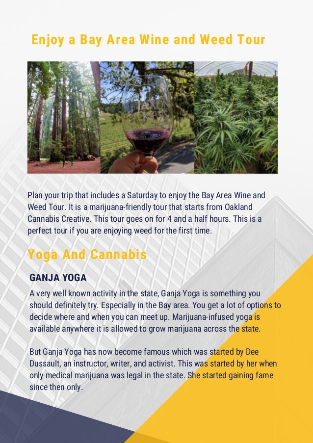 Things you must try on your weed trip the golden state (california) Slide 3