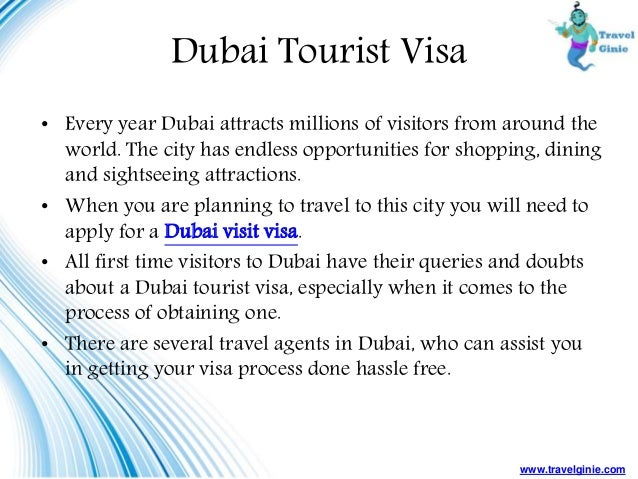 Things You Need To Know About Dubai Visit Visa