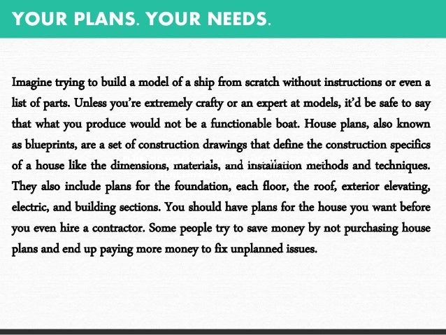 Erik laine things you should know before building a new home for Things to include when building a house
