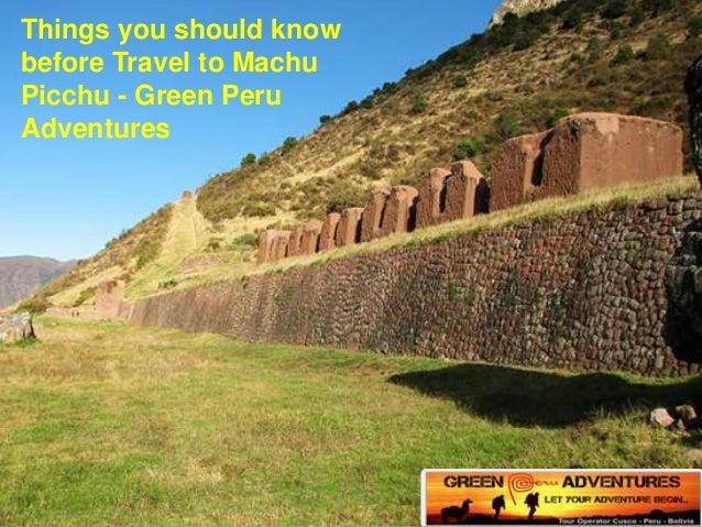 travel peru things know