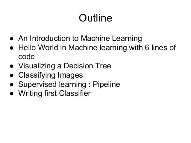 Think machine-learning-with-scikit-learn-chetan Slide 2