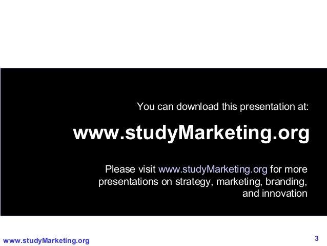 Marketing Management Slide 3