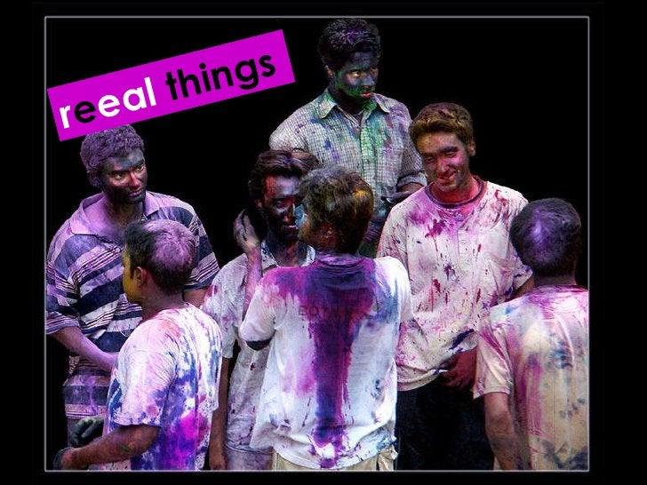r e eal  things