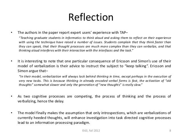 reflection paper read aloud Why you should know how to write a reflection paper on a book writing reflection papers on books is important because it enables students to evaluate their experiences after reading books when you know how to write a reflection paper thoughts towards the book that you read or simply.