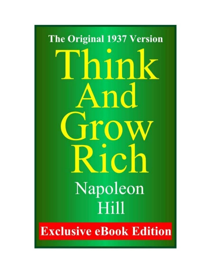 """Foreword       Perhaps no other """"success"""" book has influenced more peoplethan Napoleon Hill's Classic """"Think and Grow Rich..."""