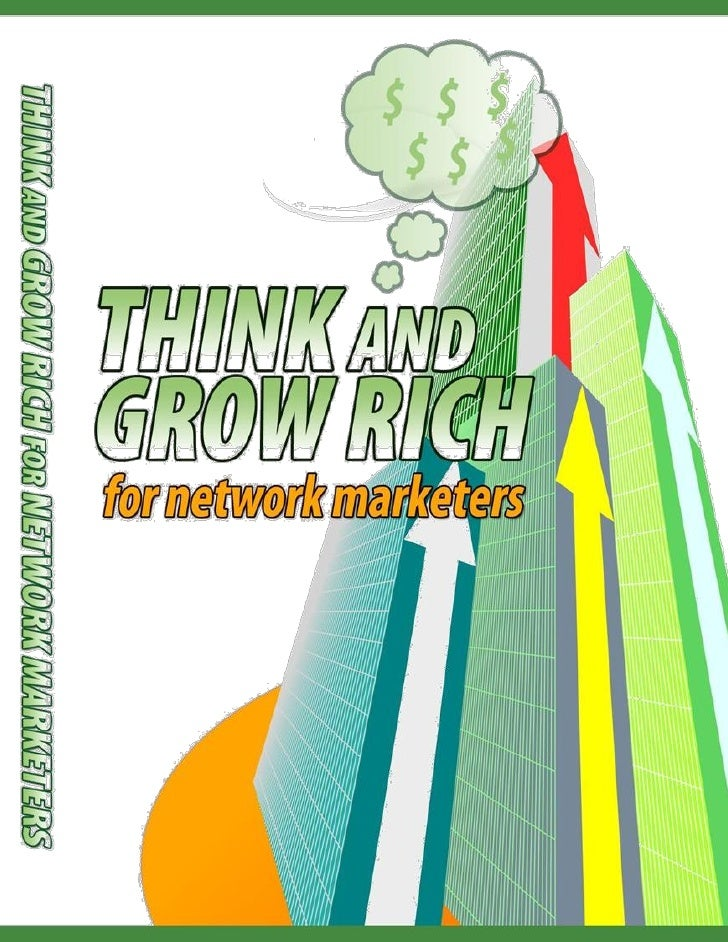"""Think And Grow Rich For Network               Marketers  """"Learn How To Develop A Winners Mindset For Your            Netwo..."""