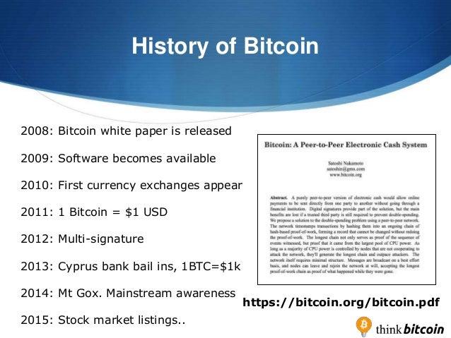 Think Bitcoin Workshop Slideshare