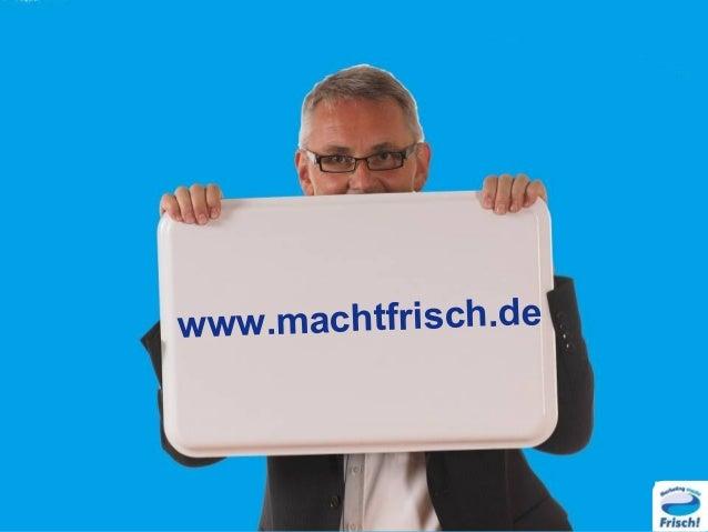 Think disruptive Stefan Frisch auf dem Business Expertenforum 14.11.2015