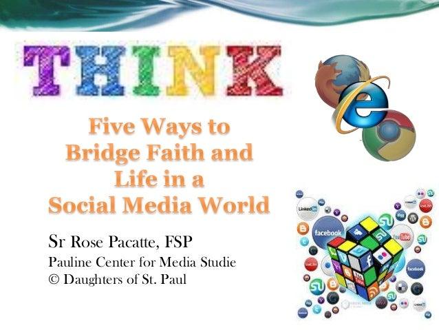 Sr Rose Pacatte, FSP Pauline Center for Media Studie © Daughters of St. Paul