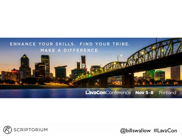 @billswallow #LavaCon