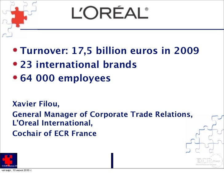 globalization and oreal Access to case studies expires six months after purchase date publication date: april 28, 2005 examines l'oreal's acquisition of leading us cosmetics brands, including maybelline, redken, and.