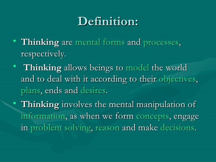Thinking Slide 2