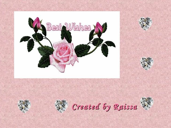 Created by Raissa