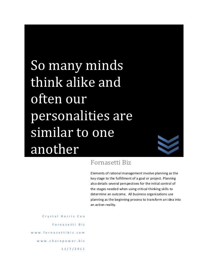 So many mindsthink alike andoften ourpersonalities aresimilar to oneanother                         Fornasetti Biz        ...