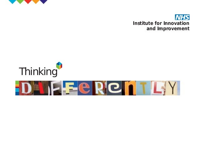 Thinking Institute for Innovation and Improvement TD_00_COVER 31/10/07 12:17 pm Page 1
