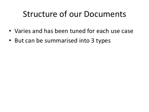 Network of Documents