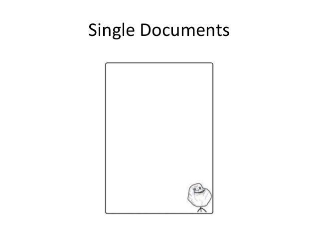 Single Documents