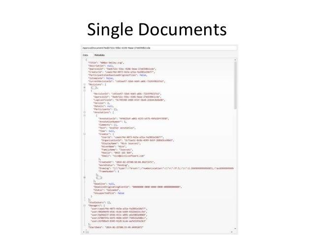Parent & Child Documents