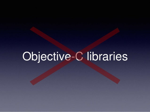 Objective-C libraries
