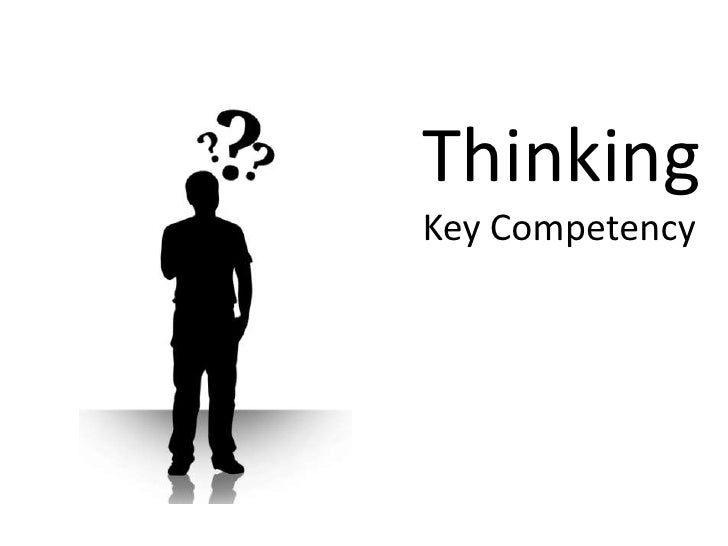 Thinking Key Competency