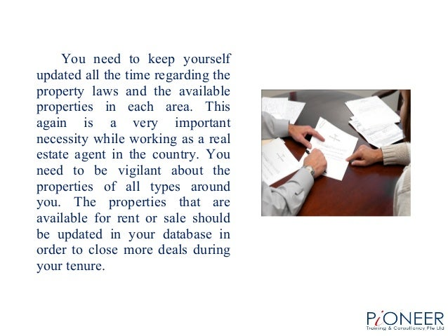 Thinking of becoming a real estate agent must know the important facts