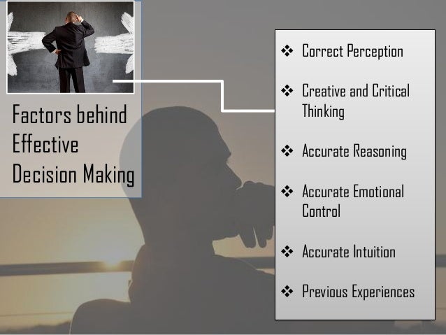 five steps to better critical-thinking problem-solving and decision-making skills