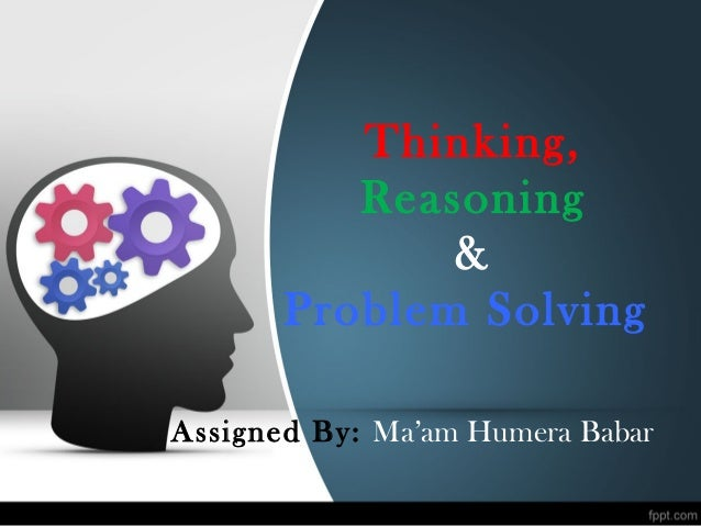 problem solving and reasoning aptitude A study of mathematical aptitude in relation to intellectual and problem solving abilities reasoning and problem solving 59.