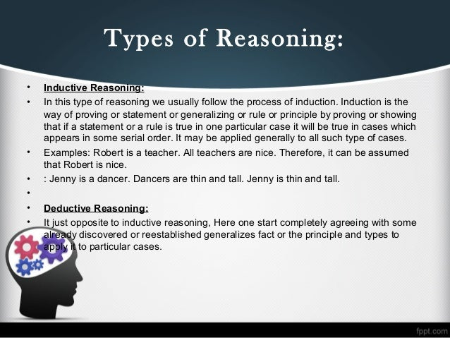 types of reasoning Guide to preparing for the integrated reasoning section and key strategies to do   to solve 12 questions of four types: multi-source reasoning, table analysis,.