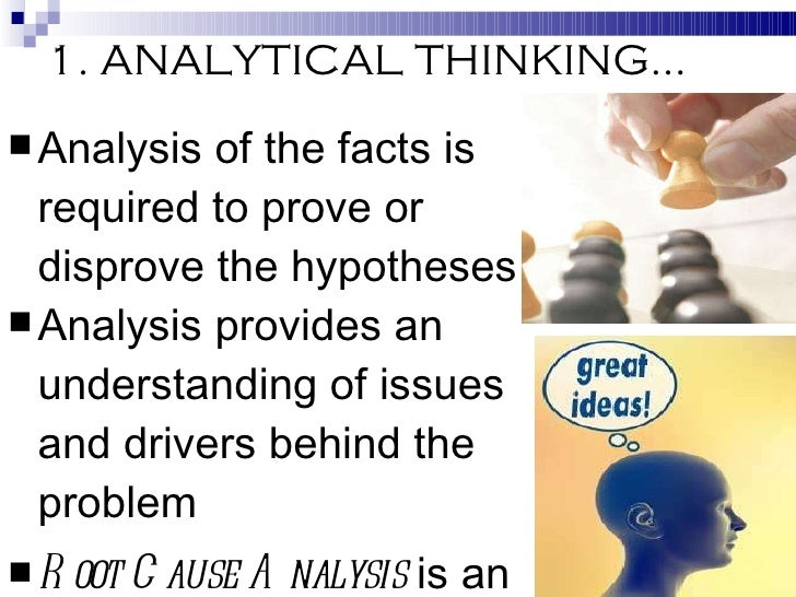 critical thinking and analytical methods ctam We offer critical thinking and analytical methods (ctam) the analytic and critical thinking skills workshop training modules to our state and local.